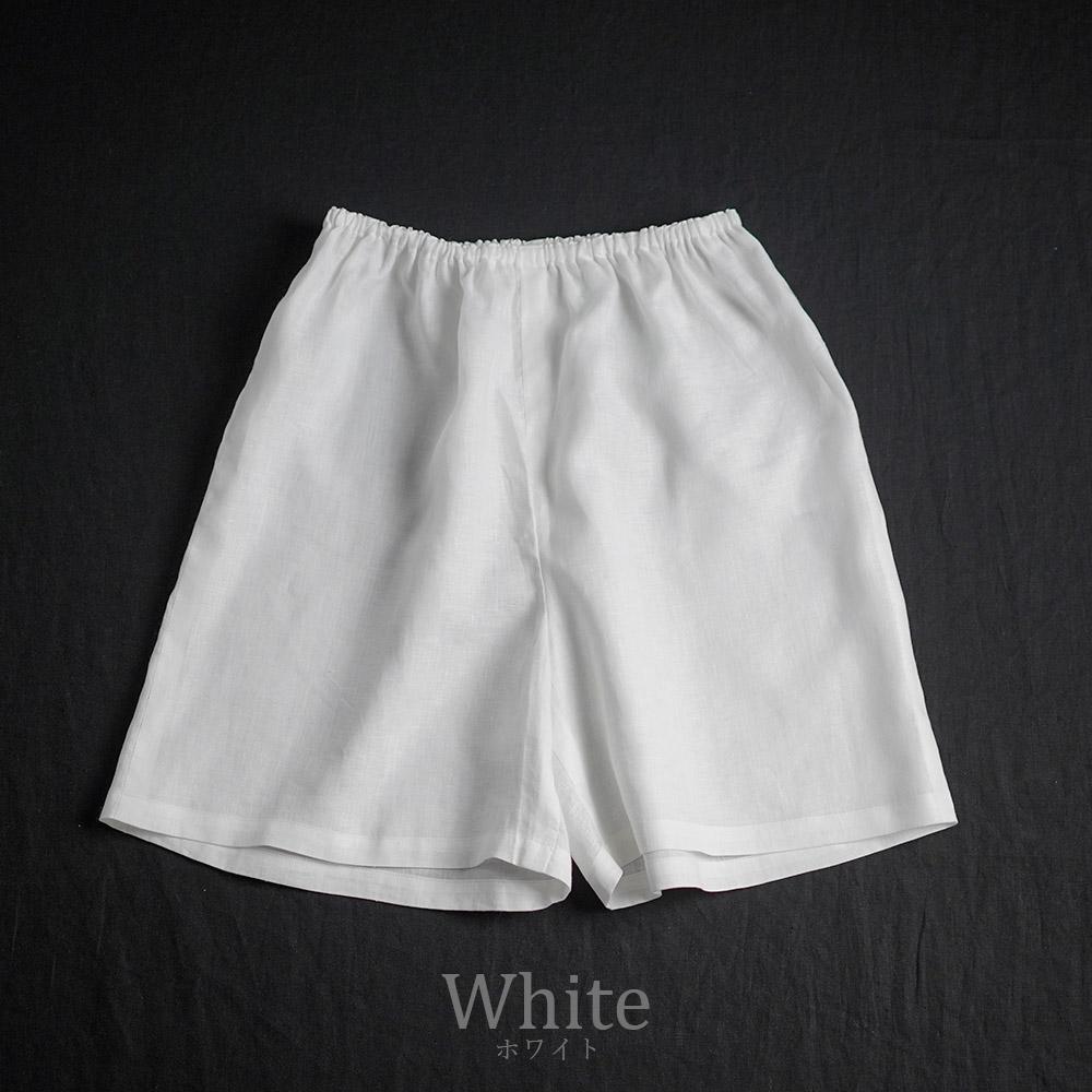 【wafu】雅亜麻 Linen  ペチパンツ やさしい インナーパンツ 肌着 / 3色展開【M-L】p003a