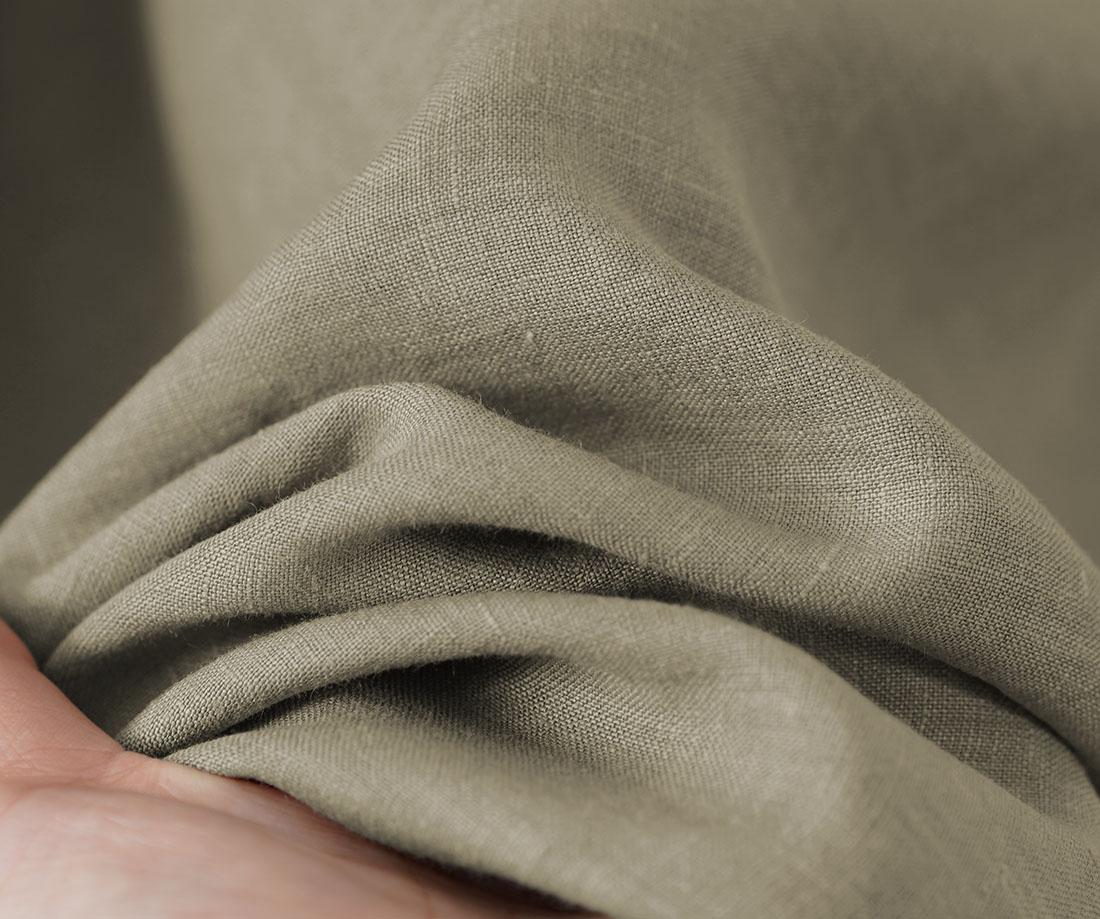 薄地 雅亜麻 リネン ノースリーブ インナー ペチコート ペチ ペチタンク 2wey  下着にも ロング丈 裾 ヘムライン / 榛色(はしばみいろ)【M-L】p011b-hbm1