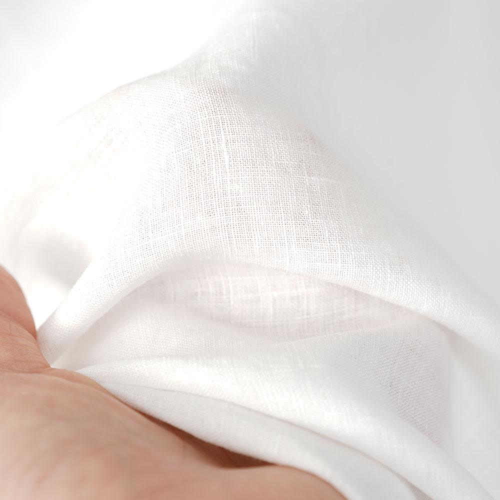 薄地 雅亜麻 リネン ノースリーブ インナー ペチコート ペチ ペチタンク 2wey ノースリーブ 下着にも ロング丈 裾 ヘムライン/白色【M-L】p011b-wht1