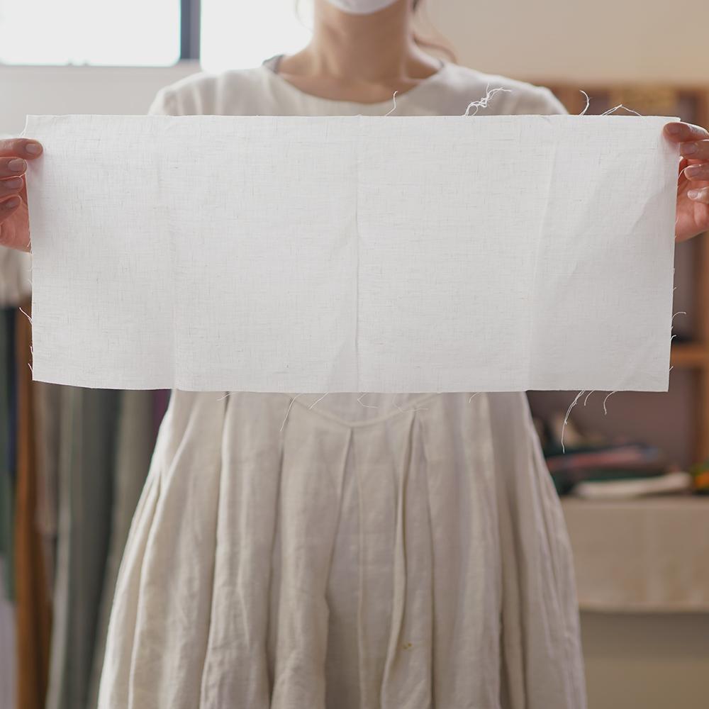【日々価格変動あり!】中身が少し見える! りねんはぎれ はぎれセット カゴバック 小物雑貨 アート 手芸 織物にも 400g以上/z000w
