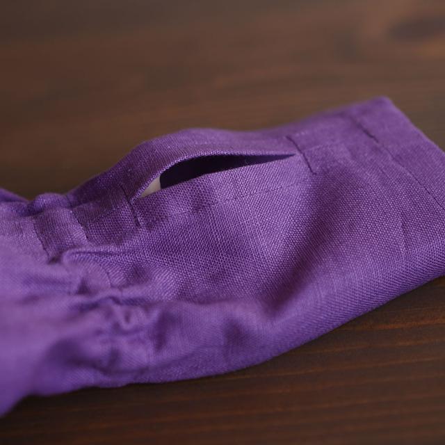 【wafu】リネン アームカバー ショート ミニ 日除け UV arm cover UVケア 紫外線ガード/2色展開【free】z017a